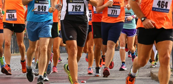 Vicenza, Italy, 20th September 2015. Marathon runners
